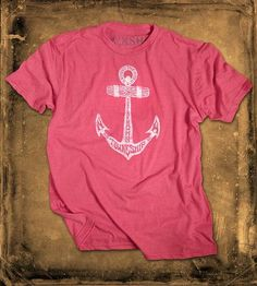 Rugged Anchor T-Shirt by Towneship Mfg. available at Scoutmob now. The place to get inspired goods by local makers. American Apparel, Menswear, Mens Fashion, Anchors, My Style, Spy, Mens Tops, T Shirt, Graphic Design