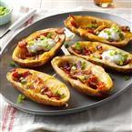 http://www.tasteofhome.com/recipes/bacon-cheddar-potato-skins