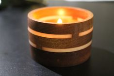 Glow in the Spark - Tea Light Holder Tealight Candle Holders, Candle Jars, Tea Light Candles, Tea Lights, Candle Magic, Candels, Tea Light Holder, Projects To Try, Glow