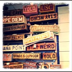 I want these Brandy Melville signs