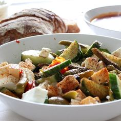 Sunday dinner salad, delicious!!!
