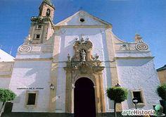 Iglesia de San Andrés de Córdoba, España.