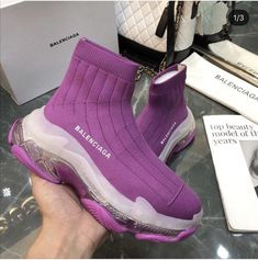 Balenciaga Runners for Sale in Jacksonville, FL - OfferUp Sneakers Fashion, Fashion Shoes, Fashion Goth, Balenciaga Runners, Swag Shoes, Balenciaga Sneakers, Nike Air Shoes, Baskets, Cute Sneakers