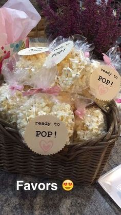 Ready-to-Pop | DIY Baby Shower Ideas for a Girl #babyshower #partyfavors #showerfavors