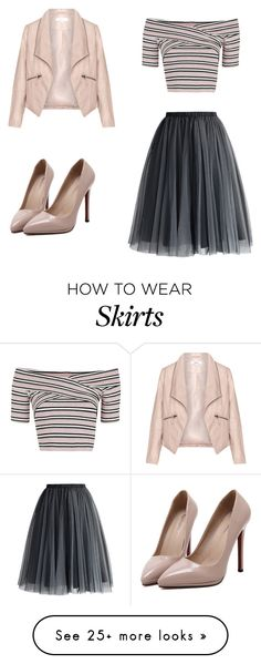"""tulle skirt"" by meant2bead on Polyvore featuring Chicwish, WithChic, Topshop and Zizzi"