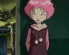 Aelita from Code Lyoko