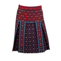 a pretty printed skirt from @Nanette Lepore