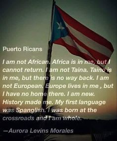 I was adopted by white parents. My first language is English. I was born at the crossroads, and I am whole. Puerto Rican Memes, Puerto Rican Flag, Puerto Rican Recipes, Cuban Recipes, Steak Recipes, Puerto Rico Trip, Puerto Rico History, San Juan Puerto Rico, Puerto Rico Pictures