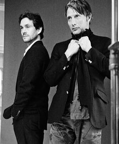 Mads Mikkelsen and Hugh Dancy
