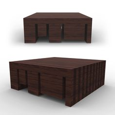 BLCK Coffee Table: Stained cherry wood coffee table.  James Owen Design & FDM  #designer #technique #vision #visual #photoreal #design #industrialdesign  #visual #designlife  #furnituredesign #furniture #designer #technique  #vision #visual #photoreal #CAD #visualization #minimal #minimalism