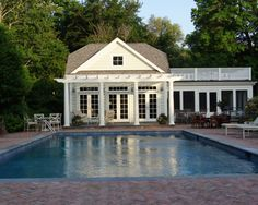 25 Pool Houses to Complete Your Dream Backyard Retreat | Pinterest ...
