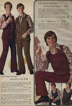 Yeah, Polyester! ~ 35 Bitchin' 70s Mens Fashions