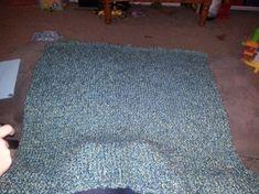 Loom Knitting Blanket, Knitting Loom Socks, Loom Blanket, Round Loom Knitting, Easy Knit Baby Blanket, Loom Knitting Stitches, Loom Knitting Projects, Knitted Baby Blankets, Baby Knitting