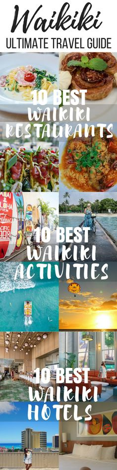 For the first time visitors to Hawaii (Oahu), it's inevitable to find yourselves in or near Waikiki. In fact, if it's something you're trying to avoid, we recommend at least drivi…