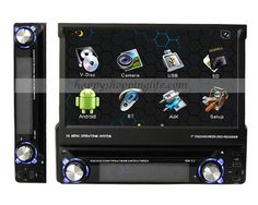 1 Din Android Autoradio DVD Head Unit with DTV GPS Wifi 3G