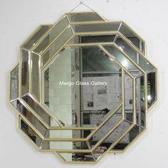 Octagonal wall mirror MG 004563