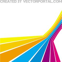 Abstract vector stripes perspective - Free vector image in AI and EPS format. Free Illustrations, Illustration Art, Free Vector Images, Vector Free, Adobe Illustrator Tutorials, Web Design, Graphic Design, Color Lines, Material Design