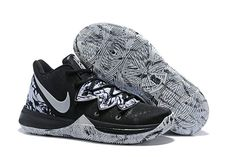 b4f02b6d09 Buy Nike Kyrie 5 BHM Black White Shoes-5 Hype Shoes