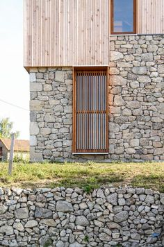 Architecture Renovation, Facade Architecture, House Cladding, Wood Facade, Modern Farmhouse Exterior, Stone Houses, Indoor Outdoor Living, Villa, House Design