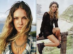 New crush:Erin Wasson by MEL▲PAGET, via Flickr