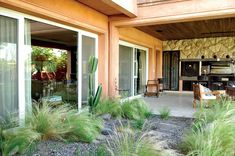 Oppel Arquitectura, Galería de Imágenes Patio, Outdoor Decor, Home Decor, New Houses, Luxury Kitchens, Wish, Facades, Argentina, Gardens