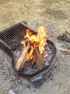 Fire from Buffalo Poo