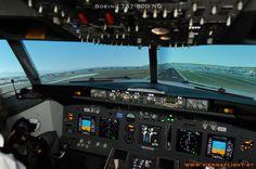 unser Boeing Simulator kurz vorm Touch Down Flight Simulator Cockpit, Planes, Aircraft, Touch, Airplanes, Aviation, Airplane, Plane