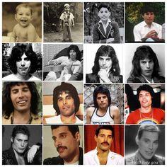 Freddie through the years Freddie Mercury Last Photo, Queen Freddie Mercury, King Of Queens, Roger Taylor, Queen Band, Brian May, John Deacon, Killer Queen, Jimi Hendrix