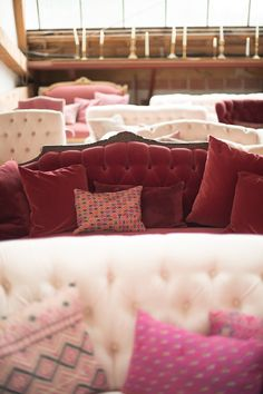 Found Vintage Rentals | Color Theory: Pinks