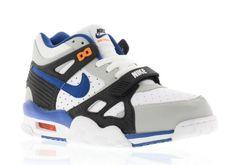Nike Air Trainer III - Pure Platinum/Lyn Blue-Black-Total Orange