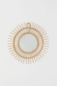 cm Atmosphera Oro Specchio in Metallo Dorato Collezione Boh/ème D 24 cm