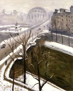 bofransson:  End of the Snow Albert Marquet
