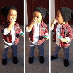 Too cute, reminds me of my nephew