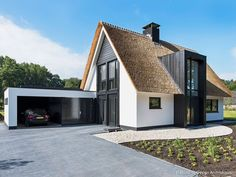 New Design Modern Exterior Dream Homes 27 Ideas Residential Architecture, Architecture Design, Thatched House, Metal Building Homes, Home Building Design, Best House Plans, Dream House Exterior, Modern Exterior, Exterior Design