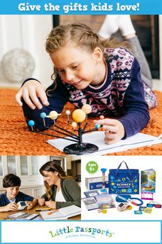 Little Passports - Monthly educational gift subscriptions for kids Stem Activities, Learning Activities, Kids Learning, Activities For Kids, Science Experiments Kids, Science For Kids, Science Projects, Gifted Education, Kids Education