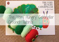 The Very Hungry Caterpillar Crochet Tutorial