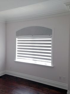 Eyebrow Arch Window Blinds