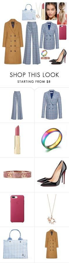 """""""#116"""" by tynabrookler ❤ liked on Polyvore featuring Gabriela Hearst, Identity, Gucci, Christian Louboutin and Tiffany & Co."""