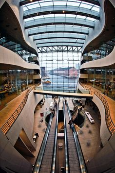 "Copenhagen Library.   I loved Copenhagen!  The Danes proudly call their city, ""The Jewel City of Europe"""
