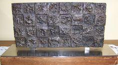"""Armand Vaillancourt, """"Composition,"""" Cast iron, x 11 ¾"""". Armand Vaillancourt, Cast Iron, It Cast, Claude, Composition, Sculptures, Curtains, Shower, Prints"""