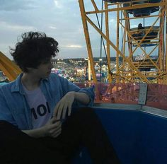 Chance and Ian take a ferris wheel ride and discuss life.