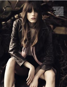 Stacy Martin - Vogue Russia - Mission to Lars