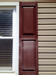 Clean your vinyl shutters with ArmorAll instead of painting them. Makes them look brand new!