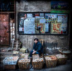 michael steverson: street vendor in china