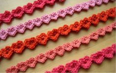If you're looking for a delicate detail to add to your crochet pattern, you'll love these sweet heart-shaped stitches.