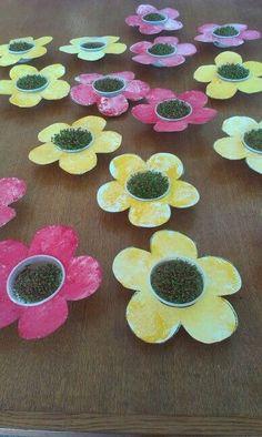 Bloemen en tuinkers