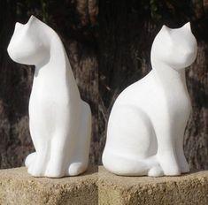 Art Sculpture En Bois, Stone Sculpture, Modern Sculpture, Abstract Sculpture, Pottery Animals, Ceramic Animals, Ceramic Art, Wood Carving Art, Stone Carving