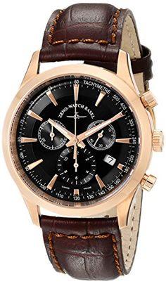 Bild ZENO HERREN 42MM CHRONOGRAPH BRAUN… Basel, Breitling, Chronograph, Omega Watch, Watches, Shopping, Money, Accessories, Tag Watches