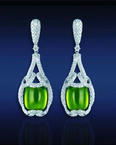 Jewelry & Watches Honest Top Class Green Kashmiri Emerald Pear Gemstone Silver Plated Necklace Set 100% Guarantee