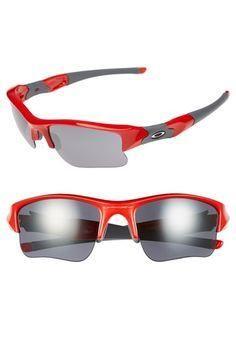 Oakley 'Flak Jacket     Oakley 'Flak Jacket XLJ' 63mm Sunglasses available at  #Nordstrom
